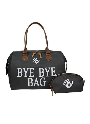 Bye Bye Bag Anne Bebek Bakım Çantası Gri